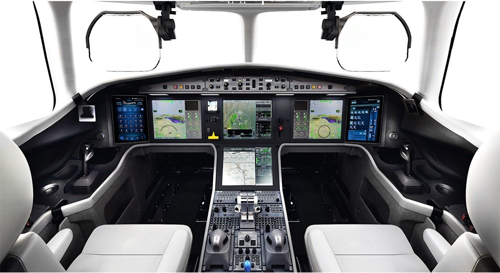 Falcon 6X Flight Deck