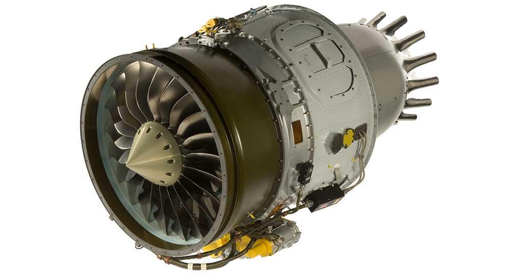 PW307A aircraft engine