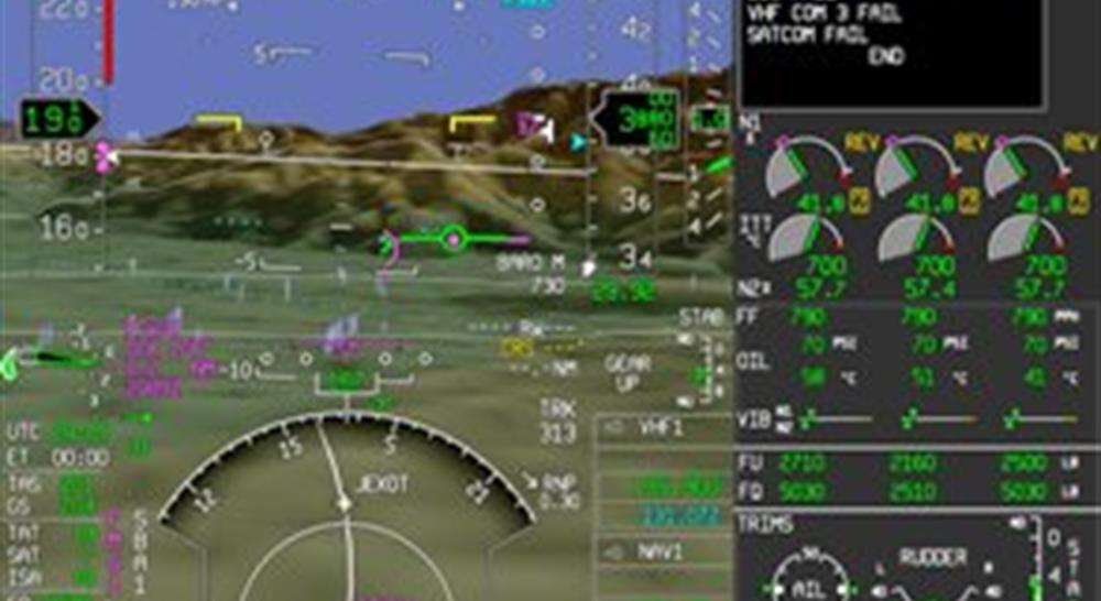 The EASy Flight Deck meets the safety needs of private jet pilots